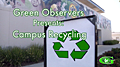 Campus Recycling Poster Frame