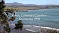Saving Californias Coastline Poster Frame