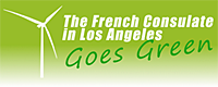 The French Consulate LA Goes Green Banner